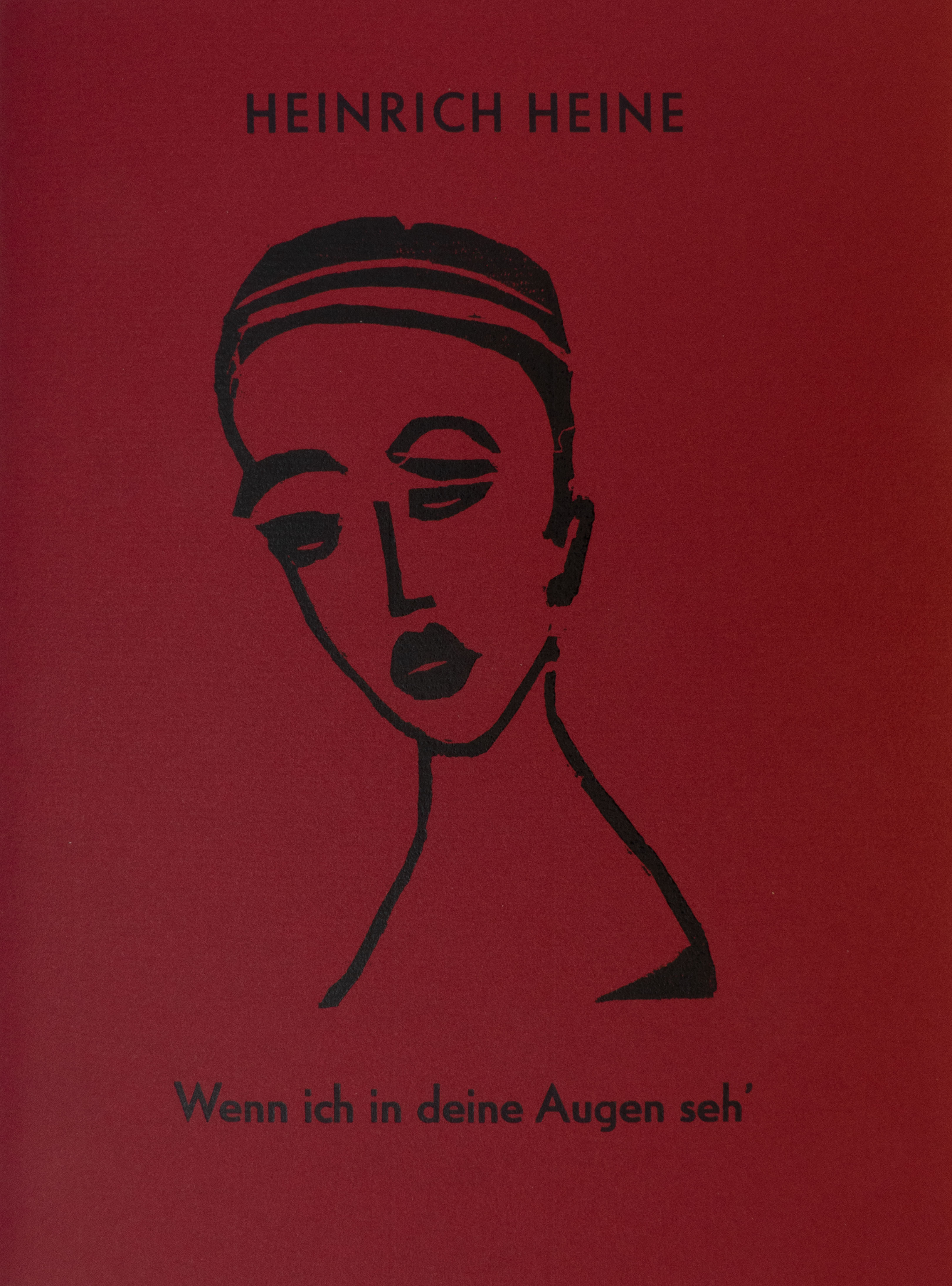 Wenn ich in deine Augen seh' - Heinrich Heine